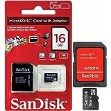Cartão Memória Micro Sd 16Gb Com Adaptador Sandisk Class 04