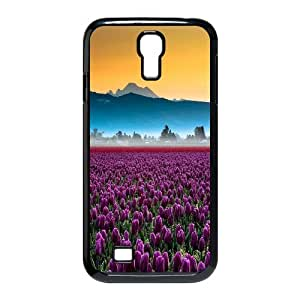 Chaap And High Quality Phone Case For SamSung Galaxy S4 Case -Beautiful Holland Tulip Pattern-LiShuangD Store Case 11
