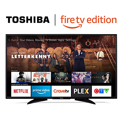 Toshiba 55LF621C19 55-inch 4K Ultra HD Smart LED TV with HDR - Fire TV Edition (+ Free English Echo Dot)