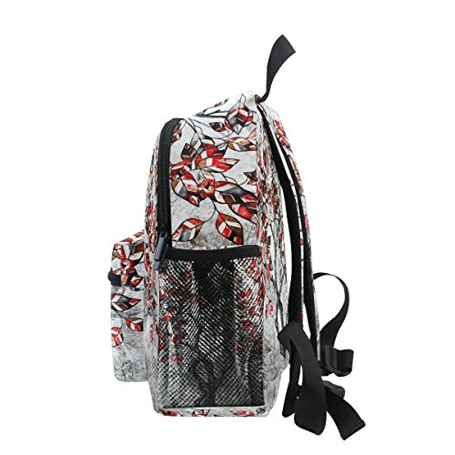 Backpack for Girls Leaves Oil Toddler Tree Kindergarten Boy Pre Kids Bag School Painting ZZKKO gFXaxzqw