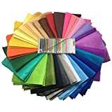 Misscrafts 28pcs Felt Craft Fabric Diy Craft Work Patchwork Sewing Material for Hobby Crafter