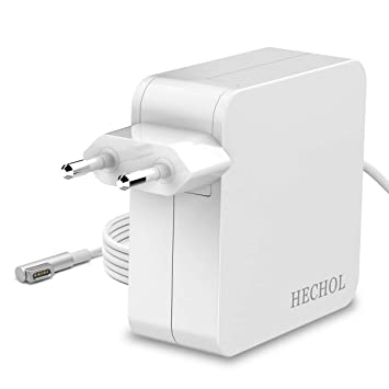 Hechol Cargador Macbook Pro,MagSafe 1 60W Adaptador de Corriente de Forma L para la Serie Apple Macbook Pro de 13 Pulgadas - Cargador para Macbook Pro ...