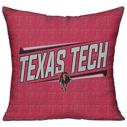 Texas Tech Red Raiders Lady Raiders TTU Teams Logo Pillow Cushion 18 Inch