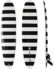 Hongzy Tabla de Surf para Adultos de 8,6 pies con diseño de Fibra de