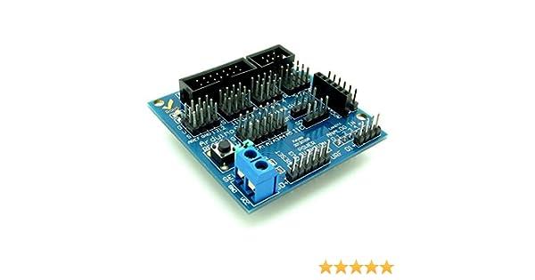 Sensor Shield V5.0 Digital Analog Module Arduino Duemilanove//UNO DA I//O Board
