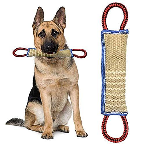 ZSWQ Mordedor Perro Juguetes para Perros Mordedor Perro – K9 Dummy y Motivador Canino Resistente y Duradero – Juguetes para Perros De Entrenamiento 30 x 7 x5 CM