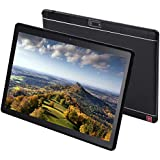 KUBI 10.1 inch Andriod Tablet, Andriod 7.0 System WiFi Tablet IPS 1920x1200 Touch Screen, 4GB RAM 64GB ROM, Bluetooth 5.0+12.0MP Dual Camera-Black