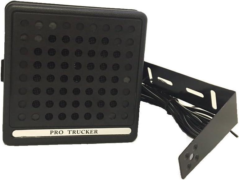 Black Pro Trucker 1000 President Style 10 Watt CB Radio Speaker with Power Cord