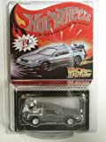 Hot Wheels Red Line Club Exclusive Back To The Future Time Machine Dark Gray