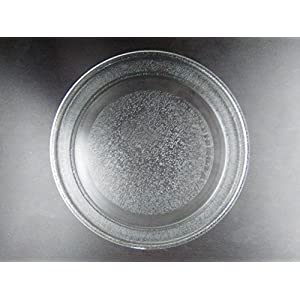 """New Replacement Microwave Oven Cooking Glass Plate 9 5/8"""" 24.1cm 241mm"""