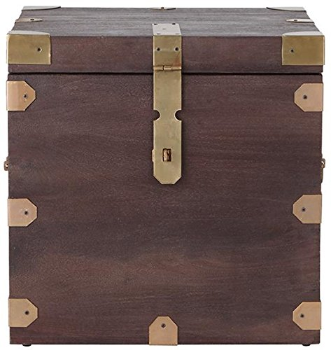 Langston Trunk Side End Table, 22H