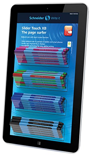 SCHNEIDER Slider Touch XB Display Unit with 50 Pens, Asso...