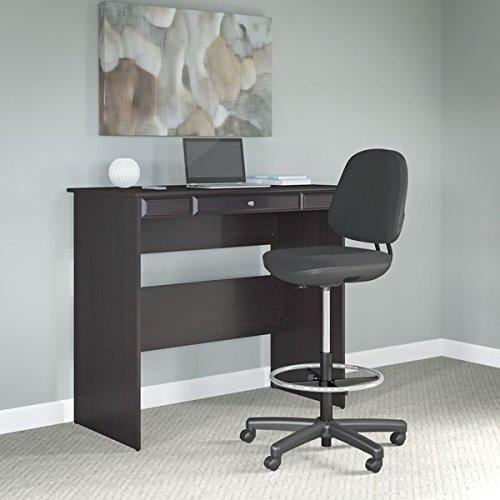 Bush Furniture Cabot Espresso Oak Finish Standing Desk and Adjustable Stool by Bush Furniture