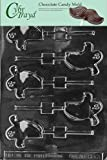 Cybrtrayd Life of the Party H064 Halloween Spooky Ghost Lolly Chocolate Candy Mold in Sealed Protective Poly Bag Imprinted with Copyrighted Cybrtrayd Molding Instructions
