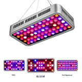 Roleadro Dimmable LED Grow Light 600W Led Plant Grow Lamp Led Hydroponic Lights with Veg&Bloom Channels for Grow Tent,Greenhouse,Hydroponic Plants Growth Led Grow Dimmable