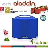 Aladdin anti-fuite Bento Lunch Box, Bleu, 0.6litre