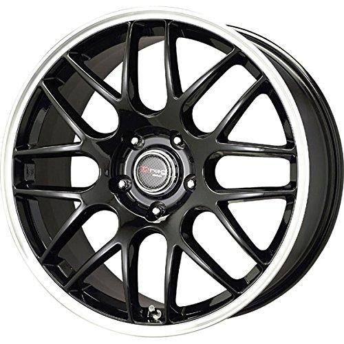 Drag Wheels DR-37 17x7.5/ 5x120 et42 Gloss Black Mesh (Drag Dr 9 Black Wheel)