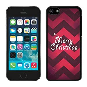 Provide Personalized Customized Iphone 5C Case Merry Christmas Black iPhone 5C Case 10