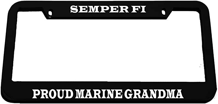 I SUPPORT THE SECOND AMENDMENT License Plate Frame Tag Holder