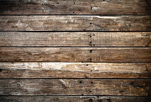 Yeele 10x8ft Backdrops for Photography Retro Brown Wood Plank Vintage Weathered Worn Hardwood Floor Wooden Plank Rustic Retro Backdrop Kids Children Photo Booth Shoot Studio Props (Hardwood Floor For Photography)