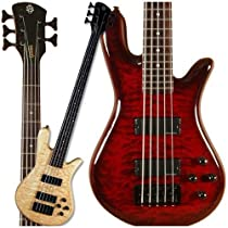 Spector Legend 5 Classic Bass Guitar (5 String, Black Cherry)