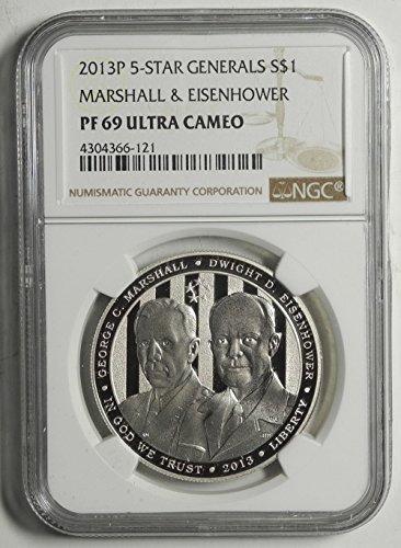 2013-p-5-star-generals-commemorative-ultra-cameo-dollar-pf69-ngc