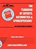 Yearbook of Experts, Authorities and Spokespesons, , 0934333572