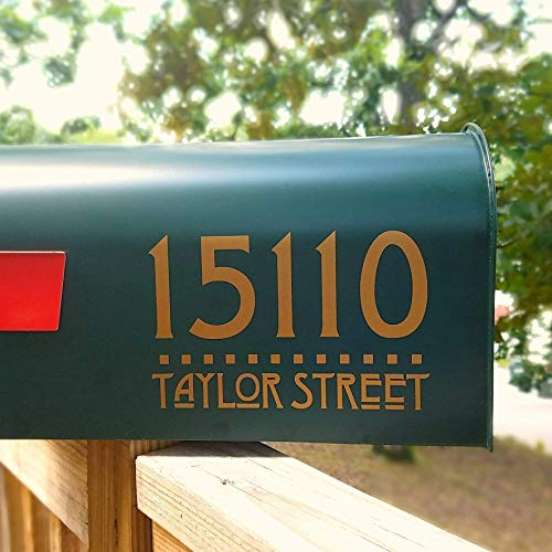 - Two sets of Craftsman Style Mailbox Address Decals