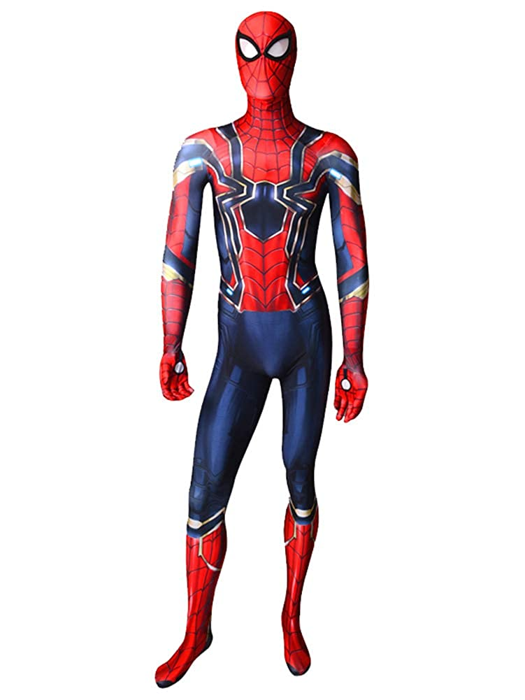Iron Spider MCU Version 3 Spider-Man Superhero Costume