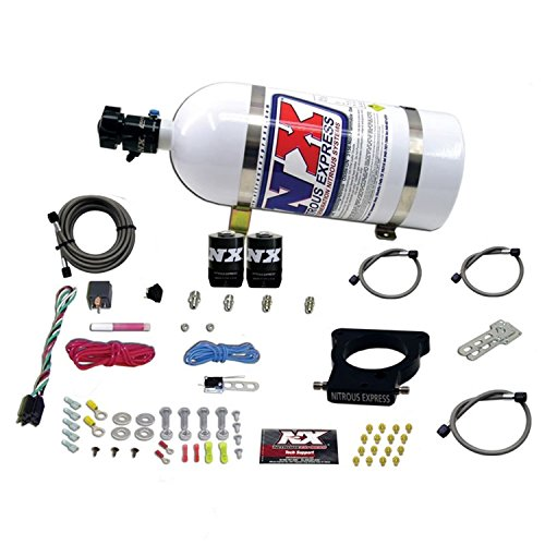 (Nitrous Express 20935-10 78mm EFI Nitrous Kit with 3-Blot Plate for GM LS)