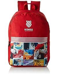 K-Swiss KALIFRED Mochila Tipo Casual, color Rojo