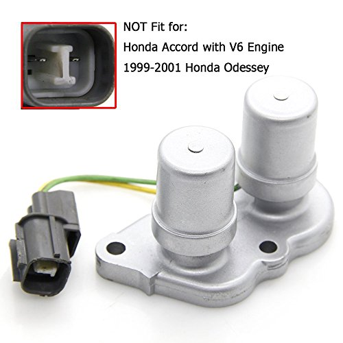 1997 Honda Accord 4 Cylinder - 28300-PX4-003 Transmission Lock up Solenoid Shift Solenoid Assembly without Gasket for 1995-2002 Honda Accord 4 Cylinder 1998-2011 Prelude 1995-1998 Odyssey & 1997-1999 Acura CL # 28300-PX4-003