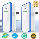 Rodea Ultrasonic Pest Repeller (2 Pack) Pest Reject Electronic Plug in-Pest Control- Best Repellent to get rid of Rodents, Insects & Bugs: Mice Rat Roach Ant Fruit Fly Fleas Mosquito Spider & Bedbug