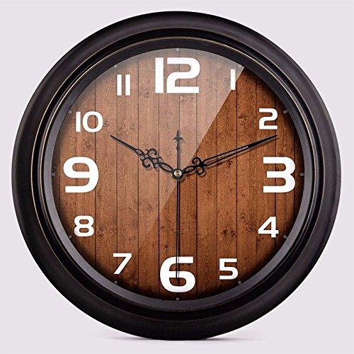 オフィス用寝室用リビングルーム用静かな壁時計、K B07DQDGXBH K K