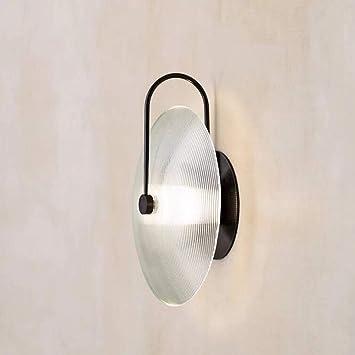 Mkjbd Linterna de Pared Lámpara de Jardín Lámpara de Pared Lámpara de Pared Lámparas Led Rayas