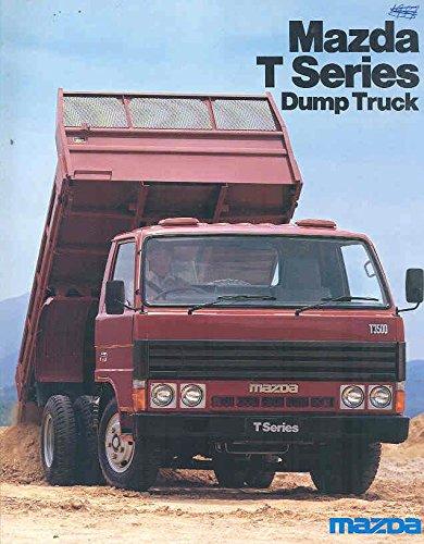 Amazon com: 1985 Mazda T3500 Dump Truck Sales Brochure