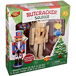 MasterPieces Works of Ahhh Nutcracker Soldier Paint Kit