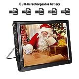 "12"" Portable HDMI Small TV,Acogedor ATSC Digital Car TV with USB/SD/MMC Card Slot,080P"