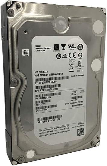 """Seagate Enterprise 8TB Capacity 3.5/"""" 7200 RPM SATA III Internal HDD ST8000NM0055"""