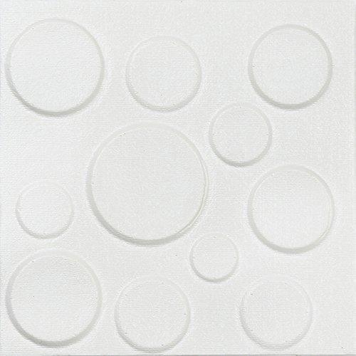 iYBUIA New PE Foam 3D Self-Adhesive Wall Stickers Decor Tile Waterproof Wall Stickers