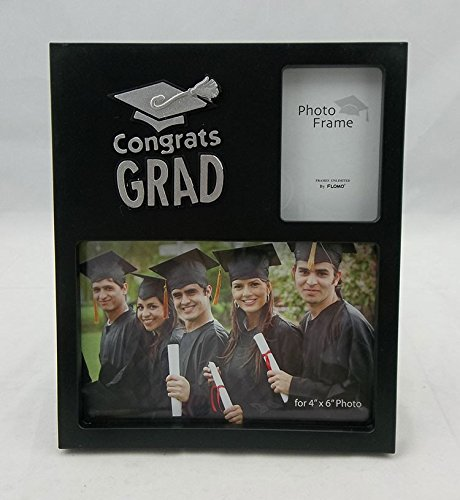 Grad 4x6 Graduation 2 Openings Picture Frame