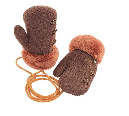 Dorapocket Cute Kids Gloves Baby Knitted Gloves Children Warm Mittens