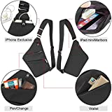 OSOCE Anti-Theft Waterproof Shoulder Backpack Sling