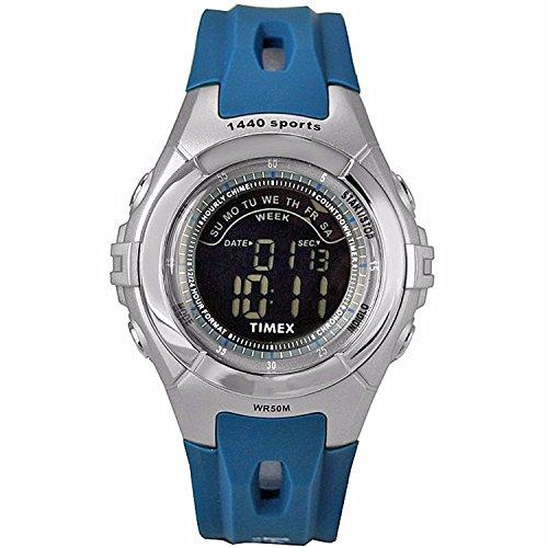 TIMEX 1440 Sports Blue/Grey Polyurethane Digital Watch