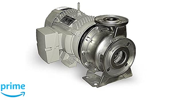 1750 rpm 2.5 x 2 2 Model PS2 230//460V Cast Iron//Steel 2.5 x 2 3 Phase 2 hp 4 Barmesa Pumps 60390141 End-Suction Centrifugal Stainless Steel-PS series