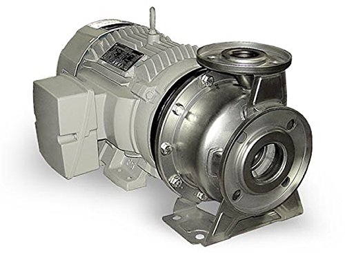 Cast Iron//Steel 2.5 x 2 230//460V 3 Phase 2.5 x 2 Model PS2 3500 rpm 7.5 Barmesa Pumps 60390142 End-Suction Centrifugal Stainless Steel-PS series 7.5 hp 2