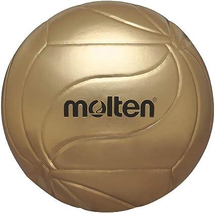 MOLTEN – Balón de Voleibol Balón de fútbol Firmado, Oro, 5: Amazon ...