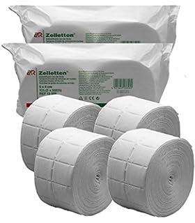Celulosas para Uñas 4 x Rollo de 500 uds./2000 Celulosa de Alta Calidad