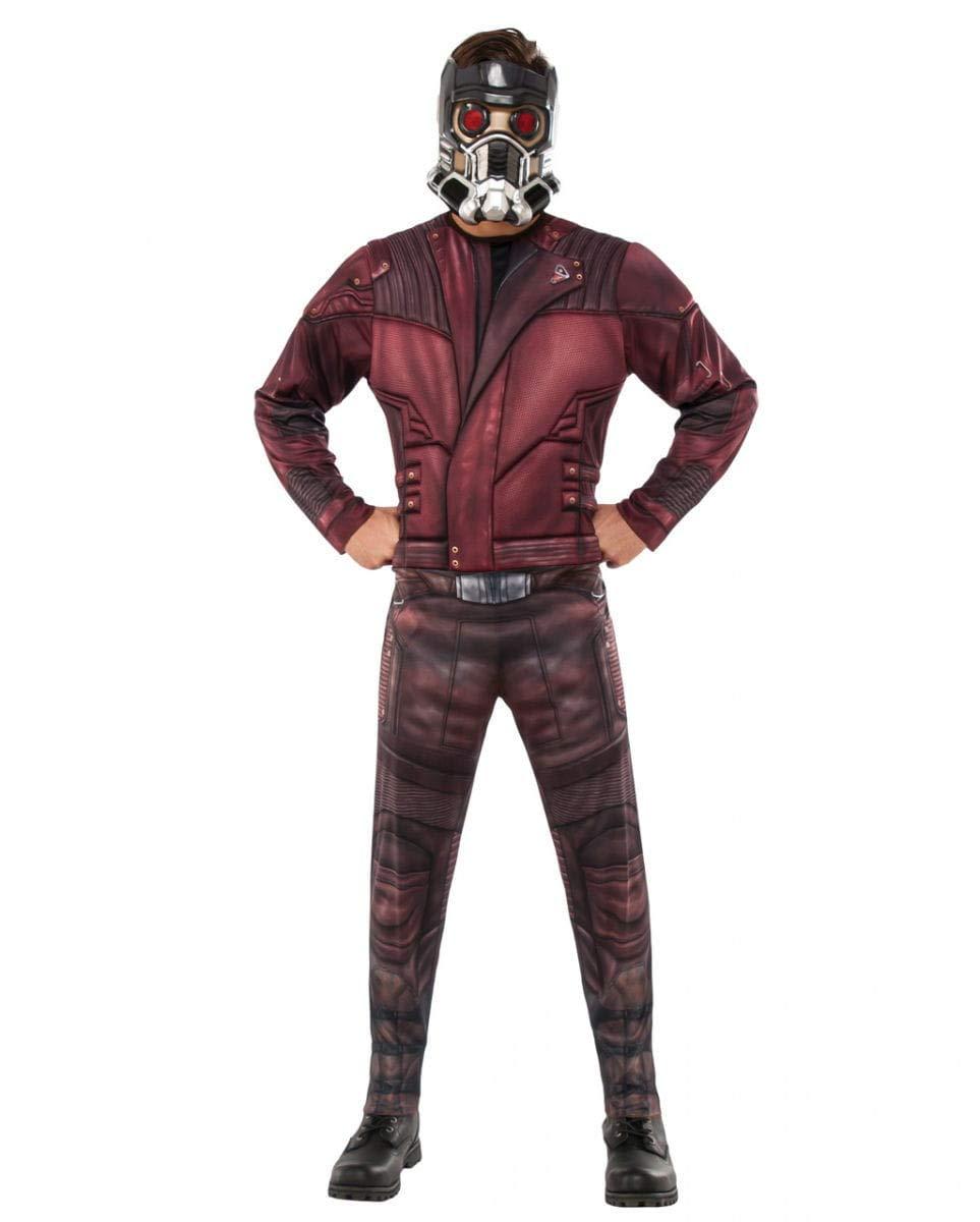 Horror-Shop Star-Lord Traje con máscara Standard: Amazon.es ...