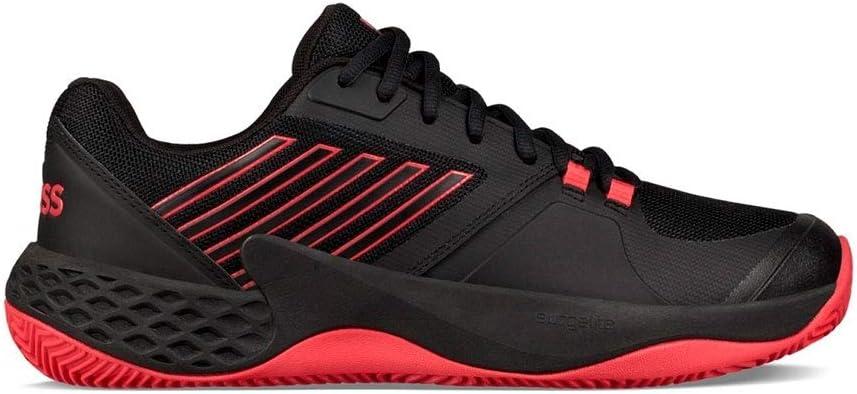 Kswiss Aero Court HB Negro Rojo 06135071: Amazon.es: Deportes y ...